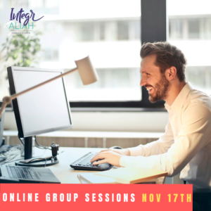 Online Group November – 5 weeks
